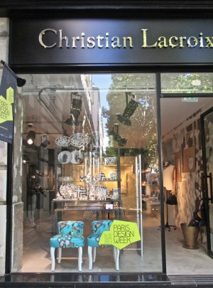 Drawing Glass collection at Cristian Lacroix Boutique