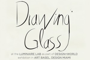 Drawing Glass at Design Miami